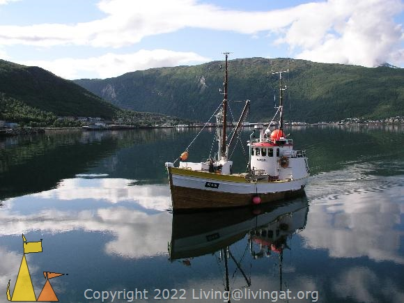 Fishing boat, Narvik, Norway, Fishing boat