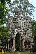 Gate of the Dead, Angkor Thom, Siem Reap, Cambodia, entrance, temple, ruin, stone